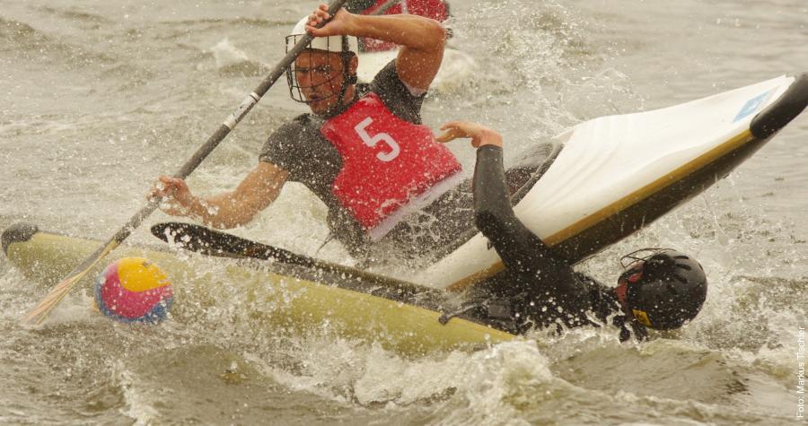 Wassersport Kanupolo