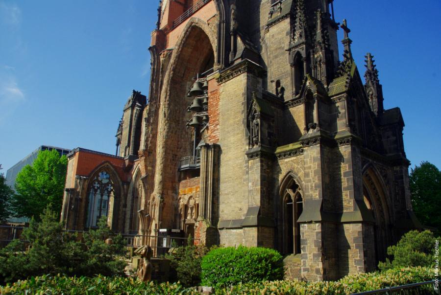 Foto: Markus Tischler - Sonnenlauf / Nikolaikirche