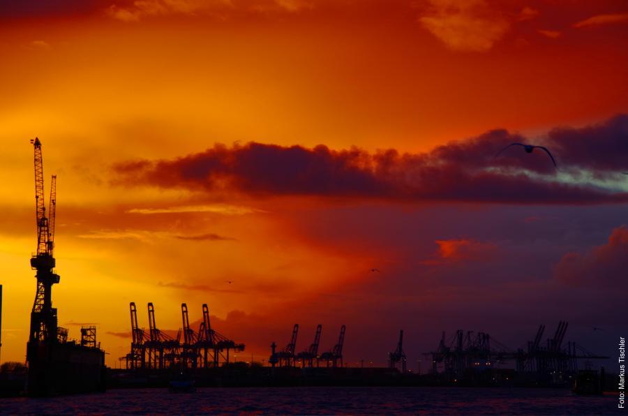 Foto: Markus Tischler - Sonnenlauf / Sonnenuntergang
