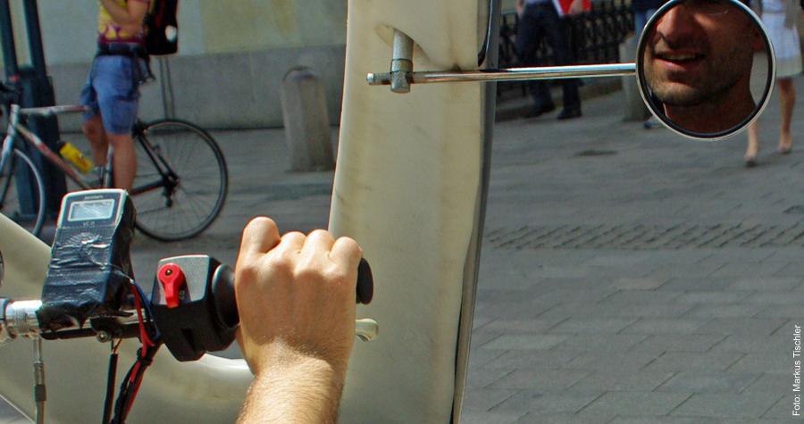 Ab durch die Gasse mit dem Fahrradtaxi