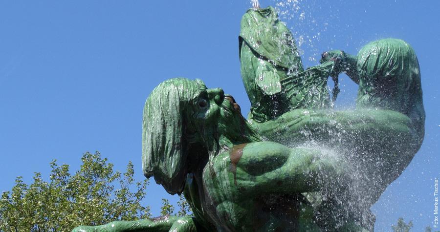 Stuhlmannbrunnen in Altona
