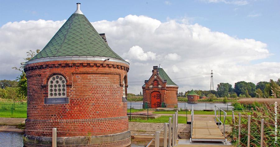 Auf der Elbinsel Kaltehofe wurde noch bis 1964 Wasser für Hamburg gereinigt