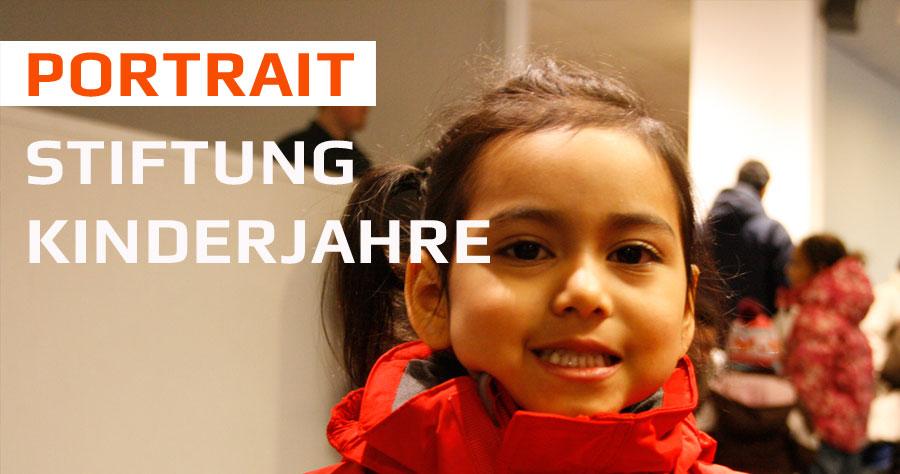 Portrait: Stiftung Kinderjahre