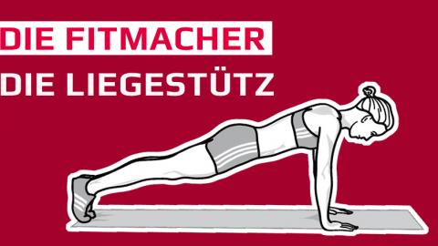 Fitmacher-Tipp: Der gehaltene Liegestütz