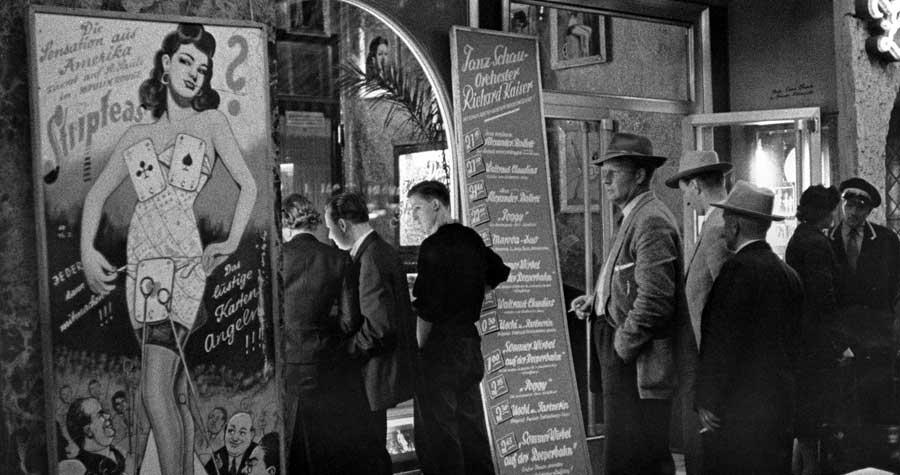 Historische Fotos aus und über Hamburg: St. Pauli