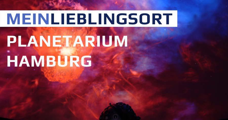 Mein Lieblingsort: Planetarium Hamburg