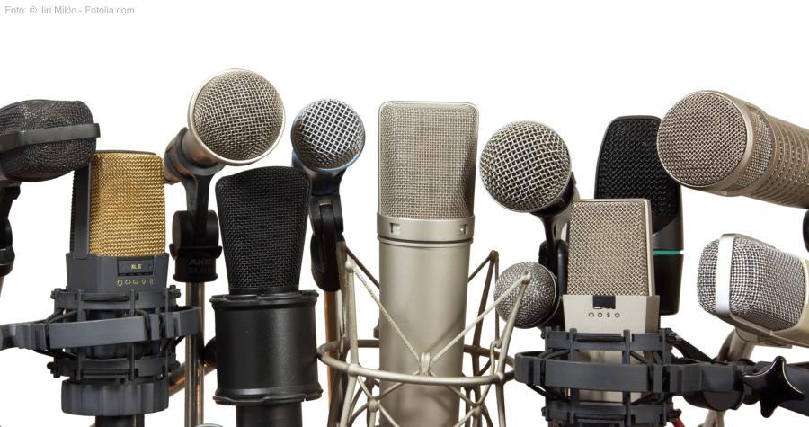 Mikrofone JiriMiklo_Fotolia