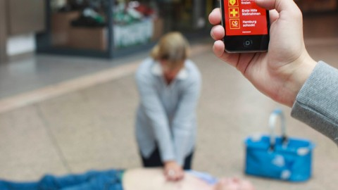 Eine App, die Leben rettet