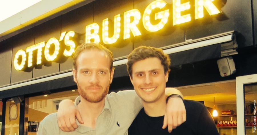 Daniel MacGowan und Lucas Chatelain von Otto´s Burger