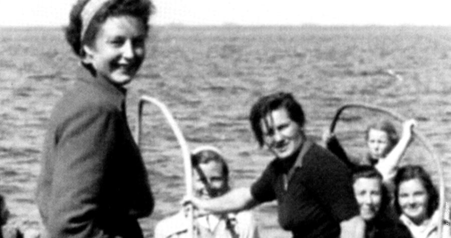 Annaliese Teetz - Deutschlands erste Kapitänin
