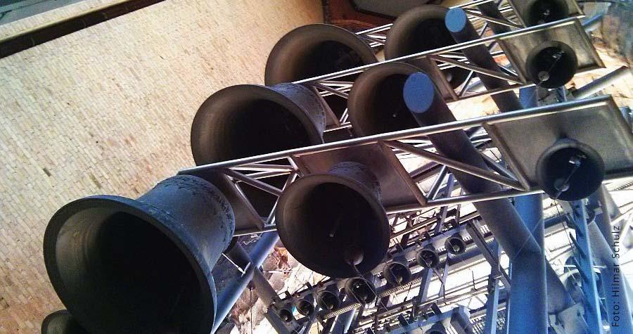 Glockenspiel in der St. Nikolai Kirche