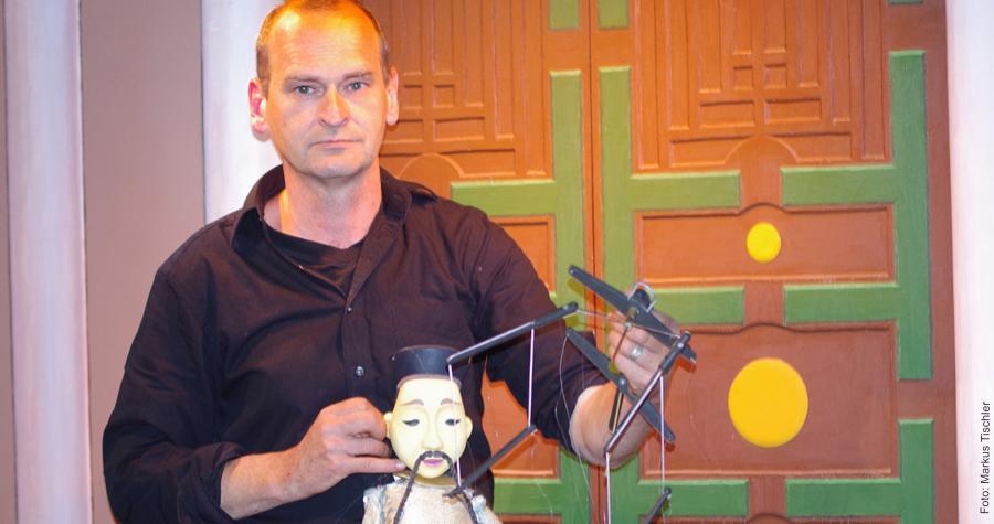 Marionettenspieler Thomas Zürn