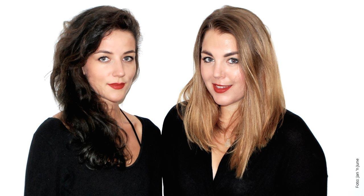 Modedesignerinnen Anna Bronowski und Juliana Holtzheimer