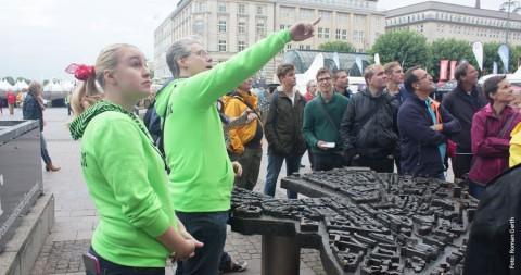 Impro-Rundgang bringt Comedy auf Hamburgs Straßen