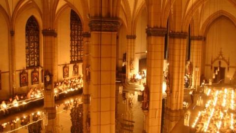 Nacht der Kirchen erleuchtet Hamburg