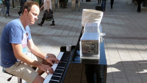 The Street Piano Man