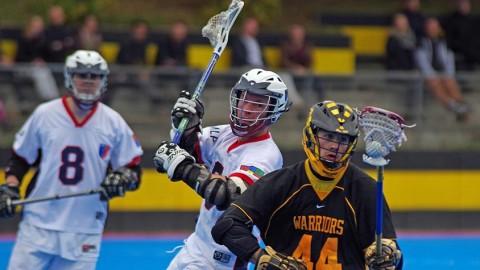 Lacrosse: Die HTHC Warriors auf der Jagd nach dem Titel