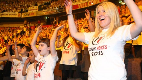 """Young Voices Germany"": Kinderchöre verzaubern Hamburg"