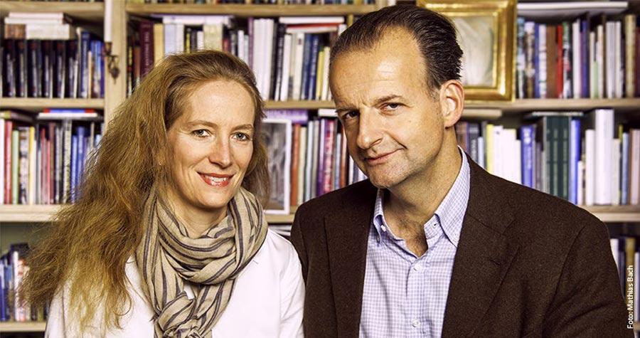 Mathias Bach gemeinsam mit seiner Ehefrau Sophie
