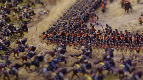 Modellbau: Waterloo en miniature