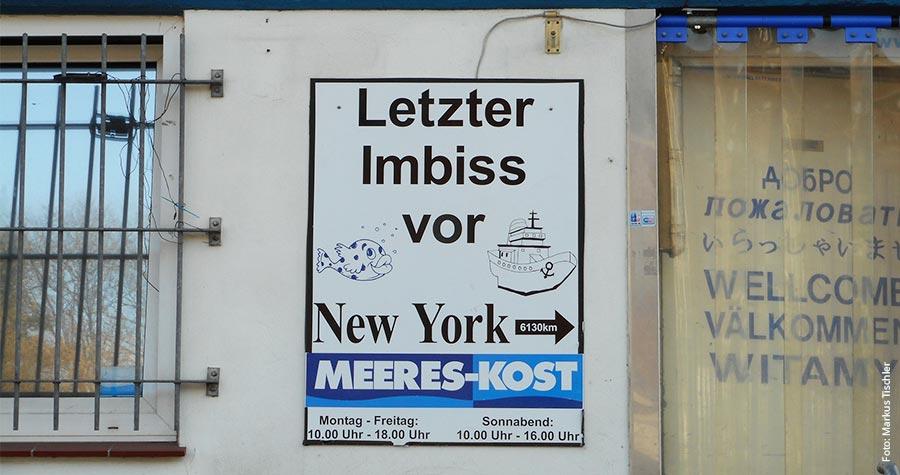 Letzter Imbiss