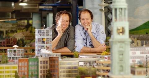 Mein Hamburg: Gerrit und Frederik Braun
