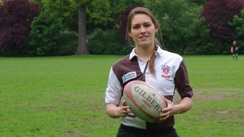 Rugby: Stephanie Harringer hat das Sagen