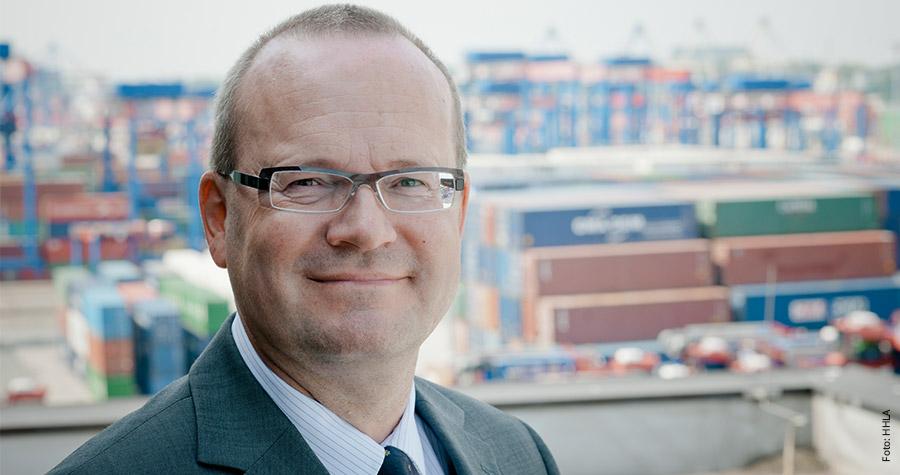 HHLA-Thomas Lütje: Bewegende Logistik in Hamburg