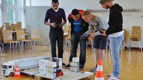 Schülerwettbewerb: Logistik spielend erleben