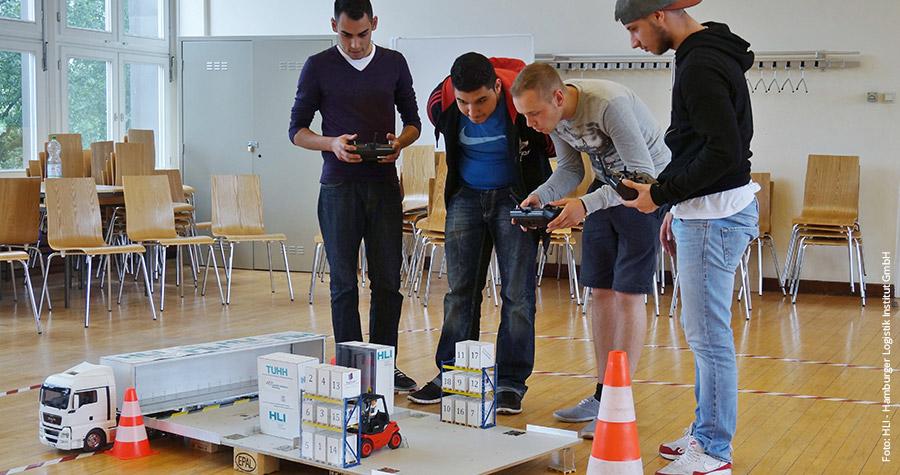 Schülerwettbewerb - Logistik spielend erleben