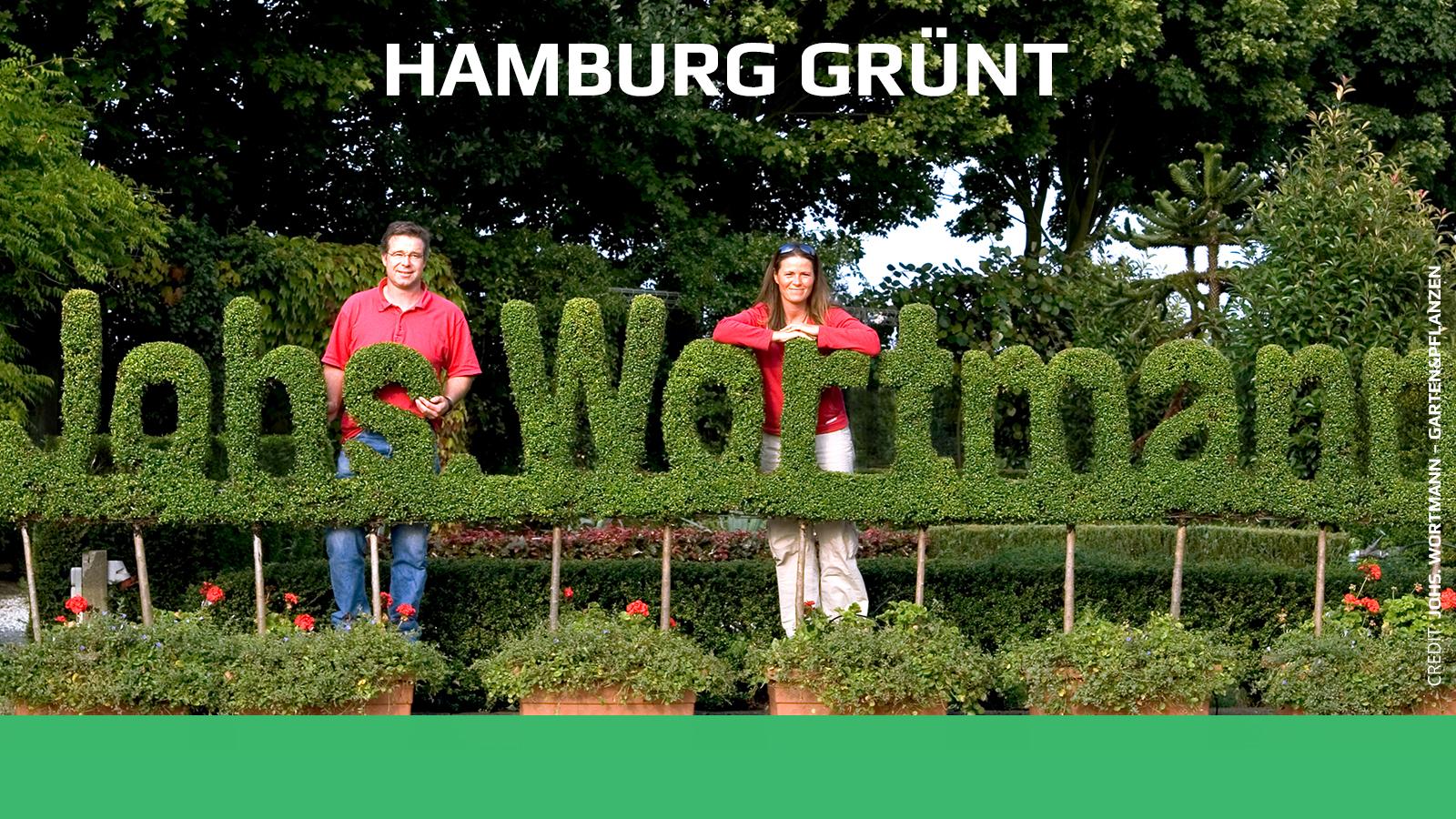 Hamburg grünt
