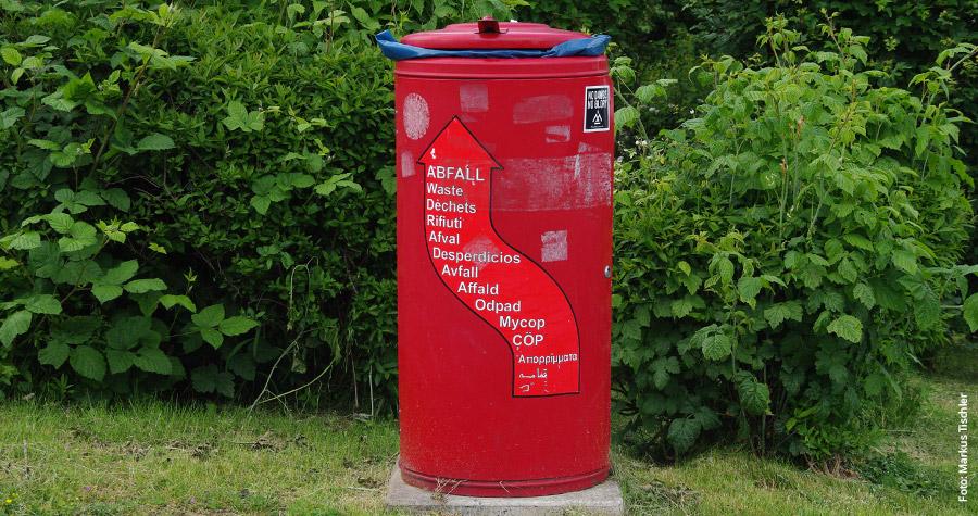 Müll bleibt Müll- in welcher Sprache auch immer.