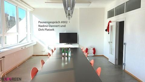Pause mit… Nadine Dannert und Dirk Platzek – ohne Nickerchen und Schwimmweste