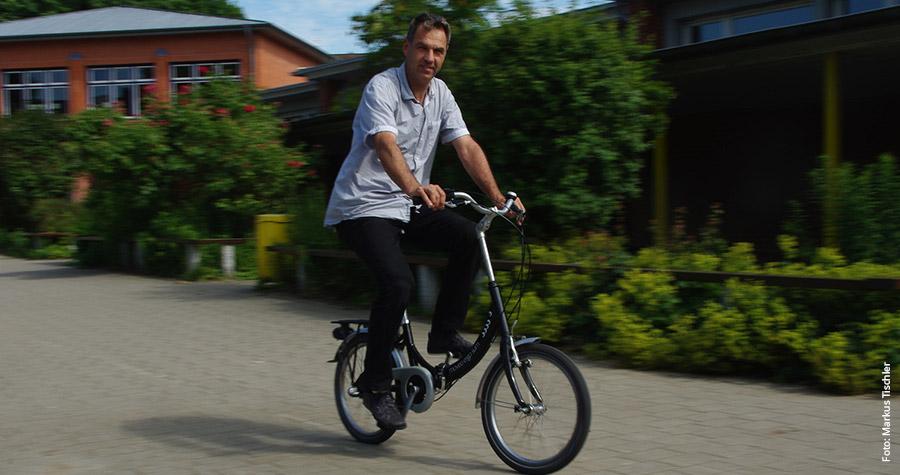 Christian Burmeister hat fast 30 Jahre lang Erfahrung als Radfahrlehrer gesammelt.