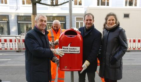 Jetzt mitmachen: noch mehr Papierkörbe für Hamburg