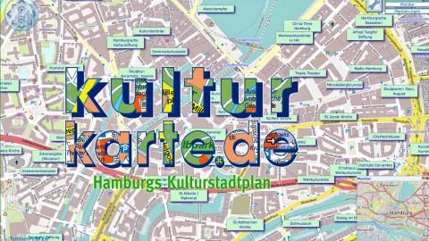 Kulturkarte Hamburg: ein Stadtplan für Entdecker
