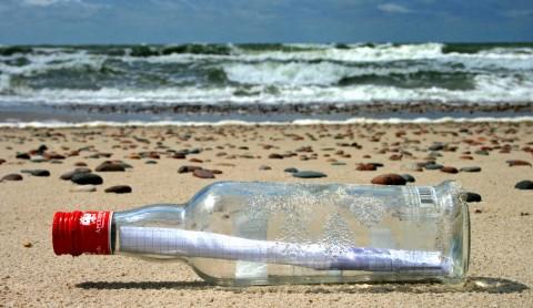 Oliver Lück: Flaschenpostgeschichten