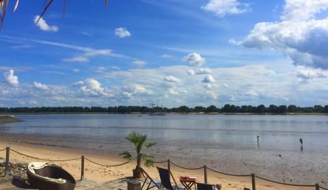 28 Grad: Die Südsee beginnt in Wedel