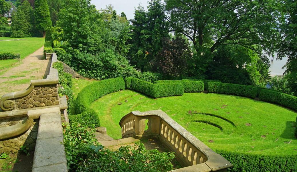 Der Römische Garten Ein Kleinod über Der Elbe
