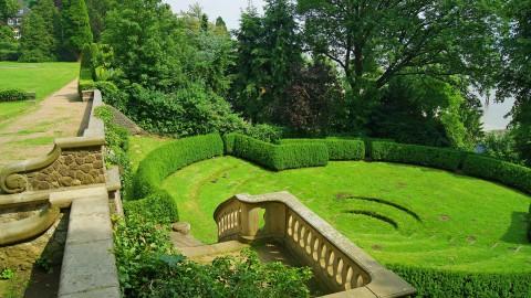 Der Römische Garten: ein Kleinod über der Elbe