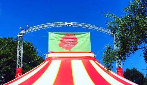 Sommer in Altona: Musikfreude im Zirkuszelt