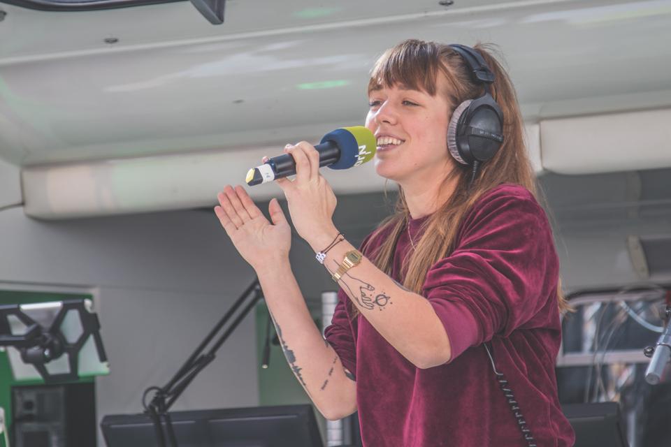 Antje Schomaker auf dem Reeperbahn Festival