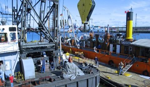 Der Hafen zum Anfassen: das  Hamburger Hafenmuseum