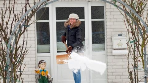 Winterzauber: Leidenschaft Schneeschippen