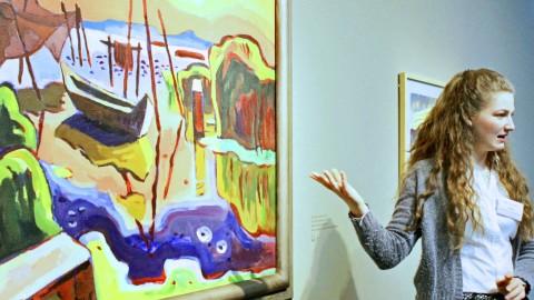 Kunst lehren und lernen: Schüler im Bucerius Kunst Forum