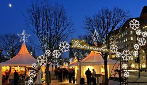Winterliches Marktvergnügen vor Weihnachten