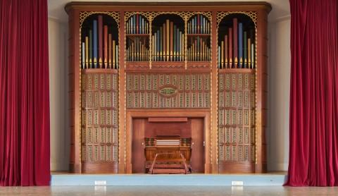 Eine Orgel zum Entspannen