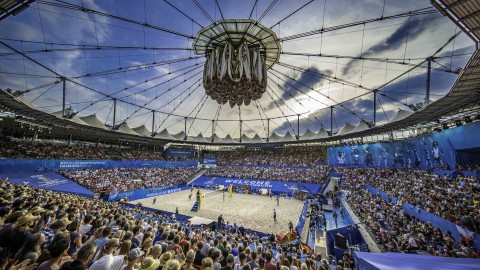 WM 2019 – In Hamburg liebt man Beach Volleyball