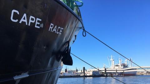 Zum Anfassen: mare-Expeditionsschiff in Hamburg