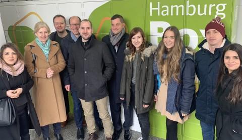 PATEN statt WARTEN: Kontaktfreie Hamburg Box für alle